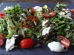 Caprese Salad (knightbefore_99) Tags: food tomato lunch restaurant salad buffalo italian room tasty delicious mozarella brewery greens tasting bocconcini bigrock caprese