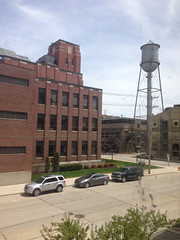 Former Hamilton Manufacturing Company Offices- Two Rivers, WI (MichaelSteeber) Tags: wisconsin watertower smokestack offices tworivers thermofisher hamiltonmanufacturingcompany