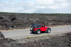 Middle of an old lava flow - Volcano National Park (Globalviewfinder) Tags: usa island hawaii honeymoon pacific hawaiian