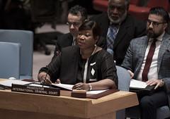 ICC Prosecutor at UNSC - 5 November 2015 (ICC-CPI) Tags: usa newyork un unitednations icc unsc internationalcriminalcourt fatoubensouda