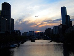 Home Coming (Mary Faith.) Tags: river melbourne southbank yarra