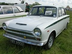 HBY 690D (Nivek.Old.Gold) Tags: ford cortina super 1966 mk1 4door 1498cc