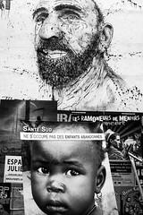 Marseille - La Plaine (Synopsis --- Ynosang) Tags: street bw white black art graffiti la marseille nw noir sony tag graf 40mm alpha blanc a7 plaine massilia hexanon coursjulien synopsis coursju ynosang