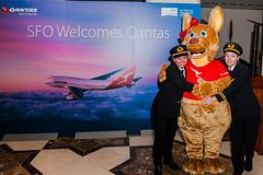 Qantas Airlines 9 (NickRoseSN) Tags: sf sanfrancisco airport sfo aircraft aviation airplanes airline sanfranciscobayarea bayarea sfbayarea boeing airlines qantas boeing747 747 millbrae b747 sanfranciscointernationalairport sanmateocounty sfoairport sanfranciscoairport qantasairlines 747boeing