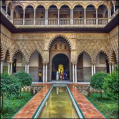 (2207) Real Alczar de Sevilla (QuimG) Tags: art architecture golden sevilla andaluca spain sony realalczardesevilla specialtouch quimg quimgranell joaquimgranell afcastell obresdart