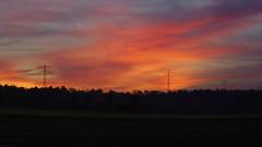 Sunset over Oftersheim