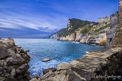 grotta byron (linotopo) Tags: sunset sea italy paradise portovenere laspezia grottabyron