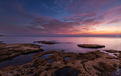 Cabo Cervera (Carlos J. Teruel) Tags: sea cloud rock sunrise mar nikon mediterraneo amanecer le nubes nocturnas rocas marinas 1835 torrevieja nikon1835 cabocervera xaviersam carlosjteruel d800e nikonafsnikkor1835mmf3545ged
