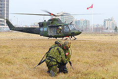 Helicopter Insertion Training (Tom Podolec) Tags: © way this all image may any used rights be without reserved permission prior 2015news46mississaugaontariocanadatorontopearsoninternationalairporttorontopearson