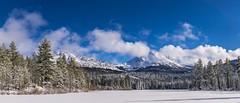 #B174  Chaos Crags and Lassen Peak- (mikebrubin) Tags: winter snow northerncalifornia chaos peak pines crags lassen lassennationalpark