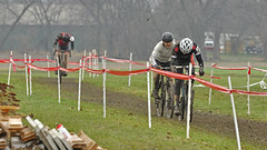 Jingle Cross - on Grass (dlholt) Tags: sports cycling flickr bokeh cyclocross jinglecross