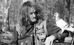Birdman II (Joe Josephs: 2,650,890 views - thank you) Tags: nyc newyorkcity people pets birds streetphotography photojournalism greenwichvillage blackandwhitephotography streetportraits streetphotographynewyorkcity joejosephs joejosephsphotography fujifilmxf1855mmf284 fujifilmxt1