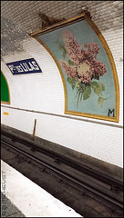 Porte des Lilas (B.MEHEUST Photographie) Tags: paris mural metro porte lilas fresque