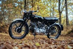 Vincent Rapide D (Lichtfrei Media) Tags: vincent rapide d motorbike motorrad old vintage alt oldtimer sony a7 nikkor 50mm