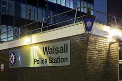 Police Station, Green Lane, Walsall 08/10/2016 (Gary S. Crutchley) Tags: police force green lane station uk great britain england united kingdom urban town townscape walsall walsallflickr walsallweb black country blackcountry staffordshire staffs west midlands westmidlands nikon d800 history heritage local night shot nightshot nightphoto nightphotograph image nightimage nightscape time after dark long exposure evening travel street slow shutter raw nikkor afs 28300mm f3556g ed vr