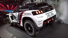 Peugeot 3008 DKR 03 (benoit.patelout) Tags: mondial automobile paris 2016 peugeot 3008 dkr