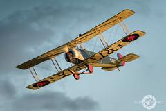 """Indian Summer Sun"" (SJAviation.net) Tags: avro504k raf aircraft nikon aviation shuttleworth oldwarden propblur airshow"