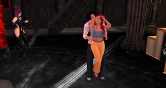 Dancing! (Osiris LeShelle) Tags: secondlife second life avilion grove club drow ooc out character dance dancing fun music