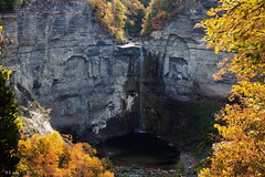 Taughannock Falls (Apollyon Sun) Tags: waterfall fall upstate newyork ithaca river autumn cascata fiume