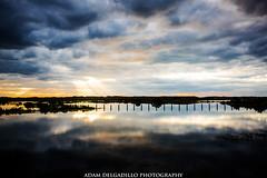 island final (oadam7) Tags: padreisland island sunrise clouds cloudy texas corpuschristi photography life adventure lifeisaadventure rays