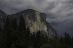 Light on the Face of El Capitan (dcnelson1898) Tags: yosemitenationalpark california sierranevadamountains nationalpark nationalparkservice nps mountains mercedriver granite glacier