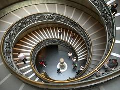 Roma - Musei Vaticani (carlogalletti) Tags: roma musei vaticani carlog scale scala scalinata geometrie stairs