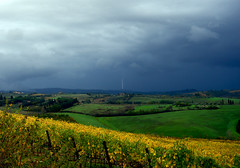 Temporale (anto_gal) Tags: toscana siena poggibonsi 2016 castellina chianti vigna autunno vigneto vino wine temporale saetta fulmine