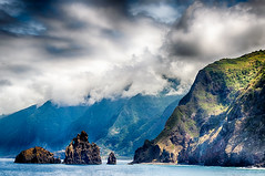 Steep coast at Porto Moniz Madeira (hanspartes) Tags: steilkste steep coast meer sea insel island madeira landschaft landsacpe