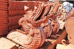 Dragons [EXPLORE] (GeckoZen) Tags: tuiles faitiere sempidi bali dragon