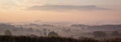 Brumes Bourguignonnes (Alexis Cayot) Tags: sunshine 70 cayot leverjour brouillard canon l bourgogne 5d eos paysage lecreusot et serie alexis 24 soleilbrume loire ef panoramique markii saone