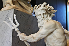 Neptune Calming the Waters (dayman1776) Tags: louvre paris france sculpture marble trident myth greek roman mythology