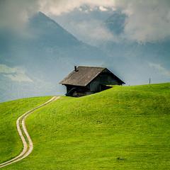 (stahl-trger) Tags: alphtte bauwerk europa europe gebude haeuser haus htte kanton obwaldenow schweiz stalden alphut building buildings home house houses hut livingquarter residence