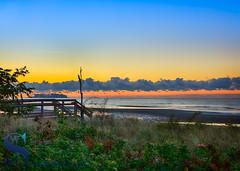 Walnut beach and Charles Island (Singing With Light) Tags: 16th 2016 alpha6000 autumn charlesisland october singingwithlight fall photography singingwithlightphotography sony sunrise walnutbeach