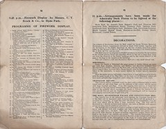 Official Programme of the National Peace Celebrations 19th July 1919 (Peter Berthoud) Tags: london programme wwi peace celebrations hmso national 19th july 1919 1910s cenotaph whitehall brock fireworks hyde park