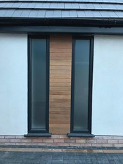 fixed upvc windows (The Nottingham Window Company) Tags: nottingham window company windows doors conservatories aluminium upvc home improvement ideas doubleglazing satin glass fixed ral 7016