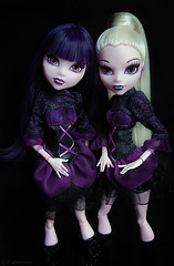 Elissabat&Veronica Von Vamp (_Caledonia_) Tags: veronica von vamp elissabat monster monsterhigh monstr