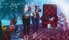 Holidays are all different depending on the company and time of your life. (BerryGotStyle) Tags: cynful {anc} {meka} baiastice bebeauty catwa dustbunny emery euphoric exile lessucreriesdefairy livia maitreya makeup moncheri ro secondlife sl storaxtree studioexposure tcf thearcade thechapterfour virtualworld
