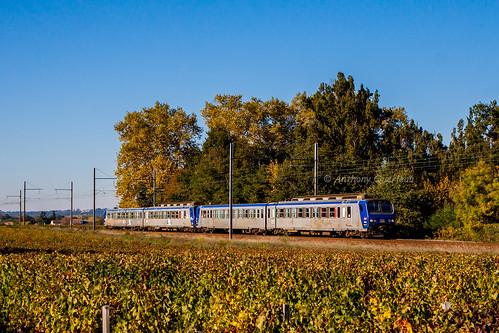 31 octobre 2016 z7344-7342 Train 866829 Bordeaux -> Agen Arbanats (33)