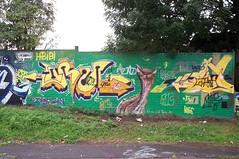 Orm x Moe (Ruhrgebiets Farben) Tags: graffiti 2002 b224 essen hall fame