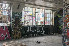 Vans (NJphotograffer) Tags: graffiti graff new jersey nj newark abandoned building urban explore vans