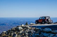 Grandfather Mountain, North Carolina (lvphotos!) Tags: north carolina grandfather mountain high parking lot jeep vehicle view travel landscape beautiful