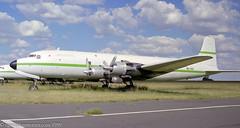 9Q-CGZ - 1952 build Douglas C-118A, now preserved at the South African Airways Museum at Rand (egcc) Tags: 272 43573 513826 6yjkm 9qcgz c118 c118a dc6 douglas fagm germiston lightroom n203gb n54g qra rand servicesair tgsas 5h264