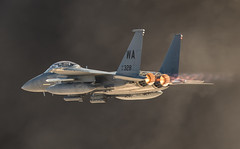 strike eagle show of force (Nick Collins Photography, Thanks for 2.1 million v) Tags: nellis afb usaf usa nevada aircraft airshow aviation flying military 57th wing boeing f15e strike eagle wa 910328 17th wps