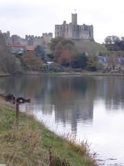 Warkworth castle reflected (Granpic) Tags: northumberland warkworth warkworthcastle rivercoquet reflection