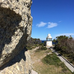 Eddystone Point - looking from the lighthouse