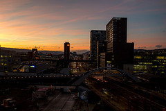 Impressions from today: Sunset on Toni (2/2) (jaeschol) Tags: europa kantonzürich kontinent kreis5 schweiz stadtzürich switzerland toniareal