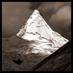 Alpamayo (5947m) (doug k of sky) Tags: alpamayo cordillera blanca andes peru doug kofsky mountainscapes