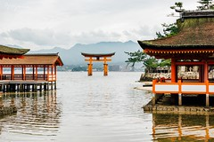 Itsukushima Shrine (bryanana) Tags: japan miyajima island torii gate culture itsukushima shrine travel explore floating canon sigma 35mm sigmaart