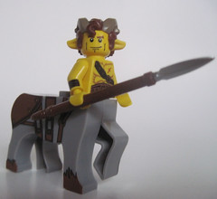 Yonkhoporos (Quickblade22) Tags: centaur custom lego brickforge fantasy