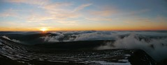 Sunset from Corn Du, Brecon Beacons (Mumbles Head) Tags: wales mountains breconbeacons penyfan snow winter sunset